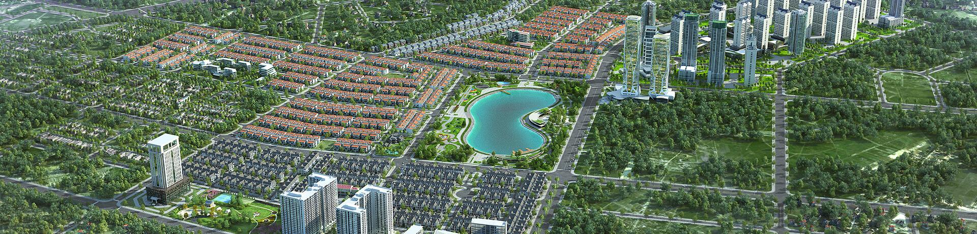 các dự án bất động sản biệt thự Nam Cường nổi bật