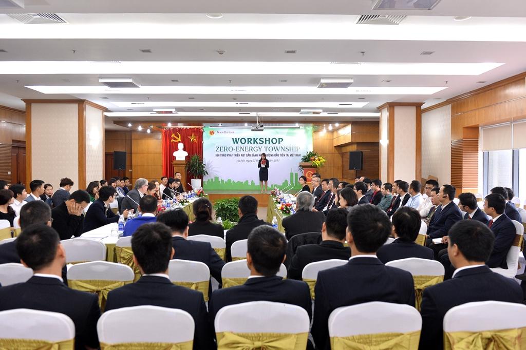 Hội thảo khu đô thị cân bằng năng lượng Zero Energy