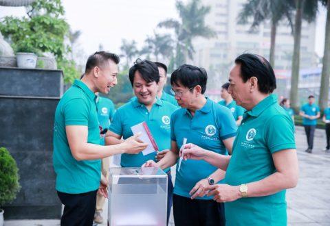 """Cư dân và CBNV Nam Cường tham gia ủng hộ từ thiện """"Qũy Trái tim Nhân hậu"""""""
