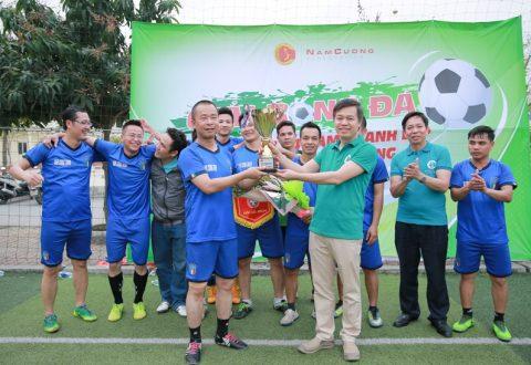 Mùa giải Bóng đá mini Nam Cường 2018 đã khép lại với phần thắng chung cuộc thuộc về đội Văn phòng Nam Định