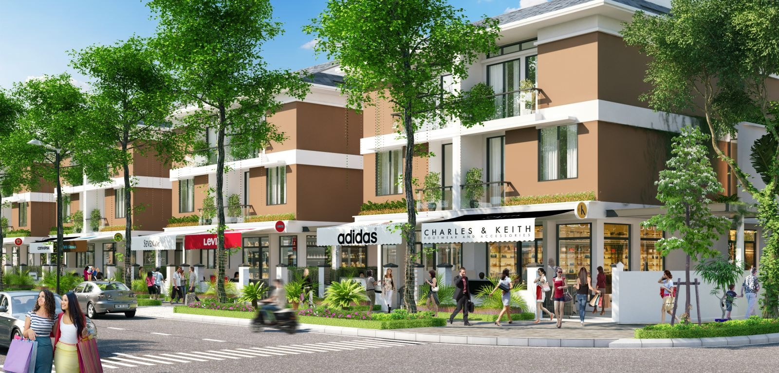 Lợi ích đầu tư Shophouse Anland Nam Cường
