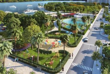 Công viên mọc như nấm tại khu đô thị Dương Nội