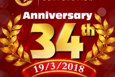 Lễ kỷ niệm 34 năm thành lập tập đoàn Nam Cường