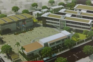 Trường THCS Lê Quý Đôn Hà Đông tại Khu đô thị Dương Nội