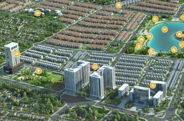 Shophouse chung cư Anland Dương Nội