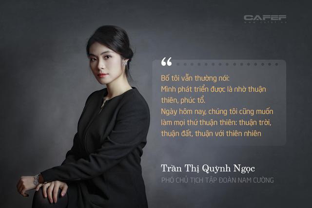 Phó chủ tịch tập đoàn Nam Cường Trần thị Quỳnh Ngọc - Con gái cố chủ tịch tập đoàn Trần Văn Cường