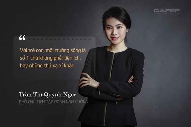 Phó chủ tịch tập đoàn Nam Cường: Trần Thị Quỳnh Ngọc