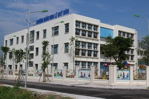 Trường tiểu học Lê Quý Đôn khai giảng năm học đầu tiên 2017 - 2018